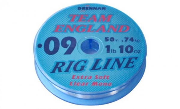 Drennan 0,09mm Rig Line Extra Soft 1lb 10oz 50m