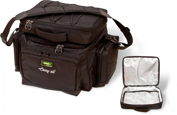Mr. Pike Carryall + Freezer Bag schwarz