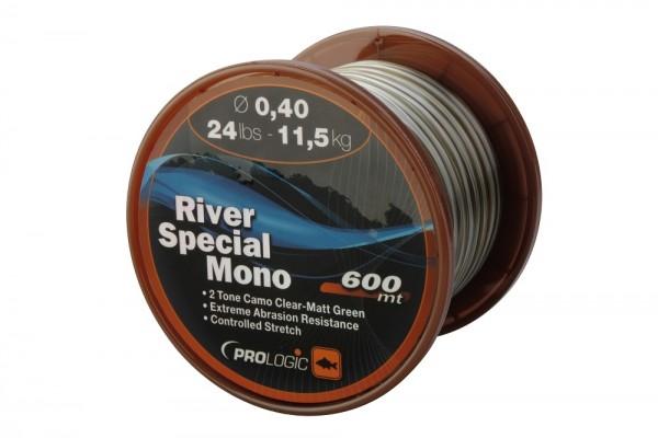ProLogic River Special Mono 600m 24lbs 11.5kg 0.40mm Camo