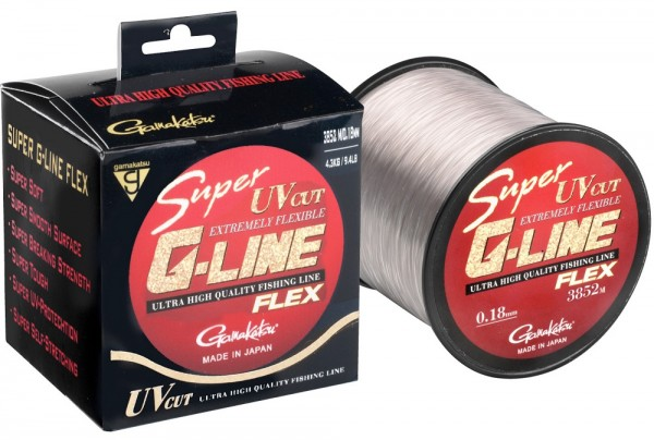 Gamakatsu Super G-Line Flex 100m 0.20mm