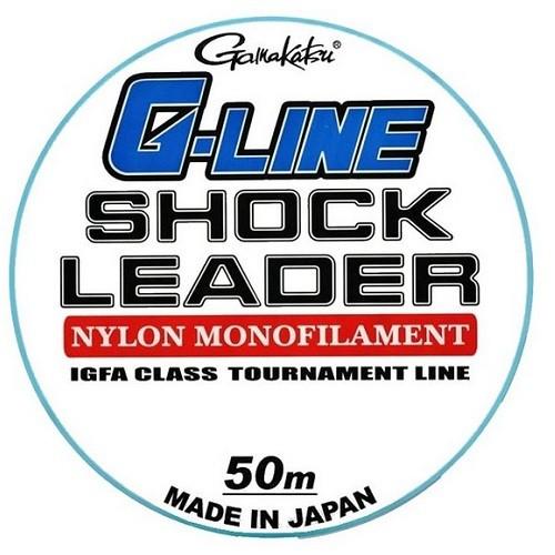 Gamakatsu G-Line Shock Leader 50m 60lbs 0.70mm 30kg
