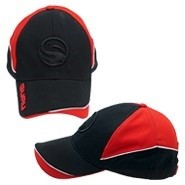 Guru Curveball Cap Black/Red