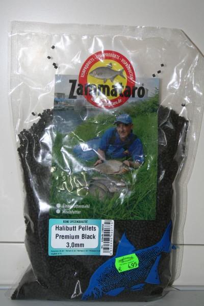 Zammataro Halibutt Pellets Premium Black 3mm 1kg
