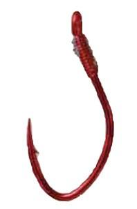 Profiblinker 10 Wahnsinnshaken-Vorfach rot Gr. 2