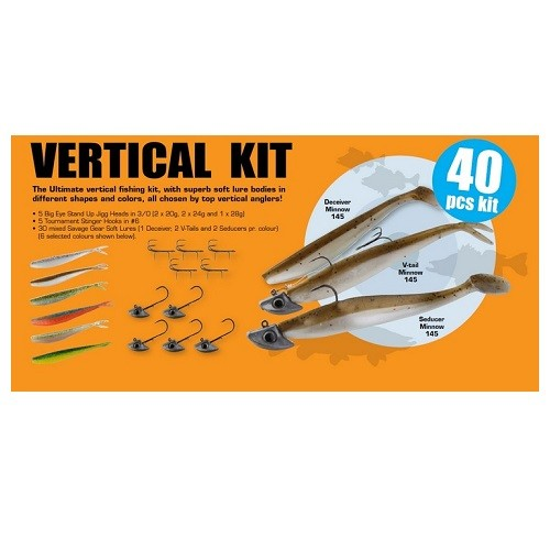 Savage Gear Vertical Pro Pack Kit