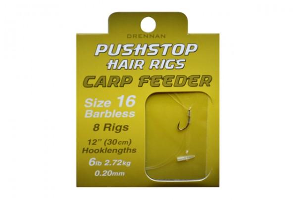 Drennan Pushstop H´Rig Carp Feeder Size 16 Barbless