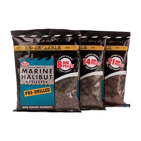 Dynamite Baits Marine Halibut Pre-Drilled Pellets