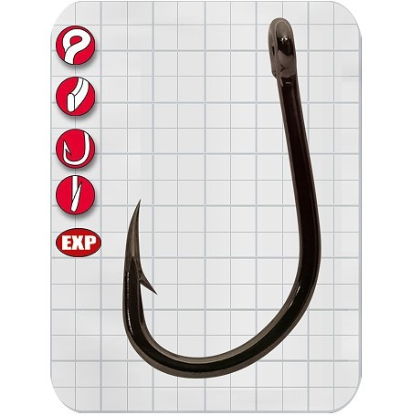 Gamakatsu LS-5373F Hooks Size 8//0