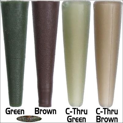 Gardner Covert Tail Rubbers C-Thru Green
