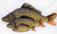 Plüschfisch Mini Schuppenkarpfen 35cm