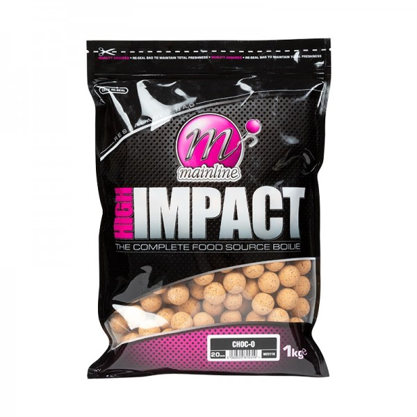 Mainline High Impact Boilies Choc-O 1kg