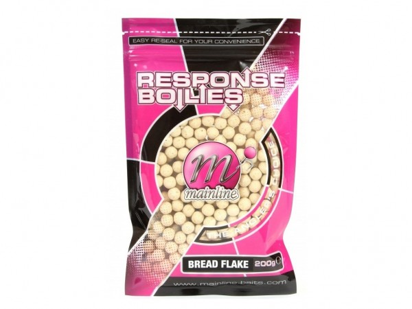 Mainline Response Boilies Bread Flake 10mm 200g