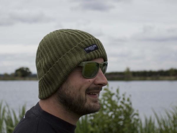 Avid Carp Beanie Hat Olive Green