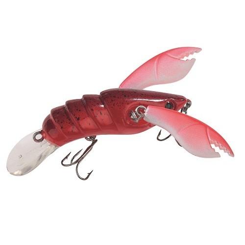 Balzer Shirasu Crazy Crawler Magic Arms 5cm Rot