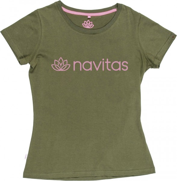 Navitas Womens Tee T-Shirt Green
