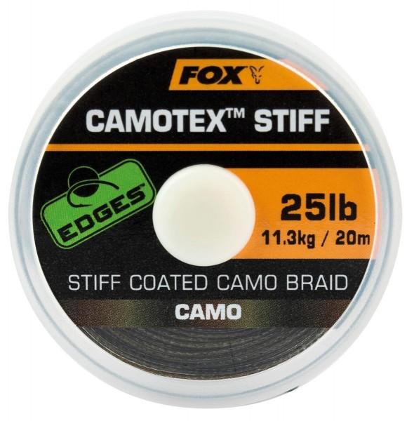 Fox Edges Camotex Stiff Coated Camo Braid 20m