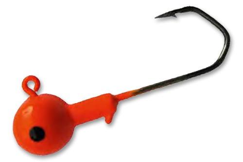 Profiblinker 5 rote Jigs Gr. 3/0 10 gr.