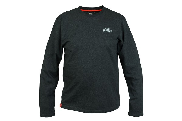 Fox Rage Black Marl Long Sleeve T-Shirt