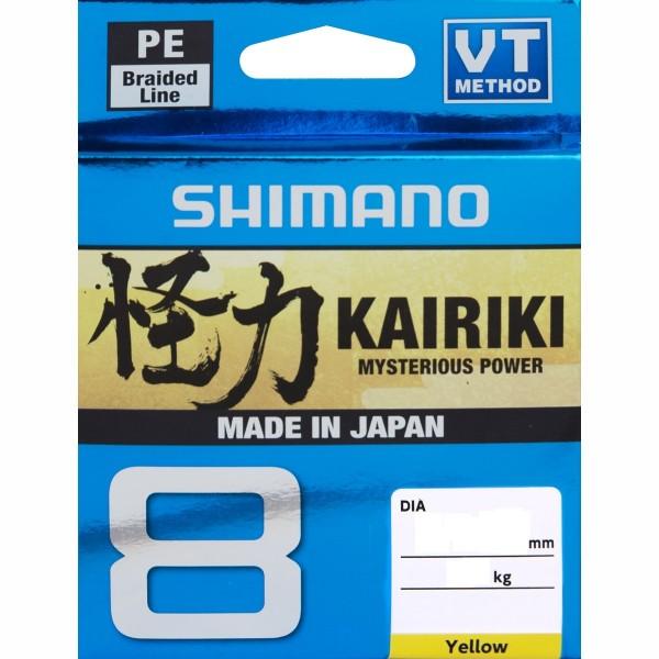 Shimano Kairiki 8 150m Yellow