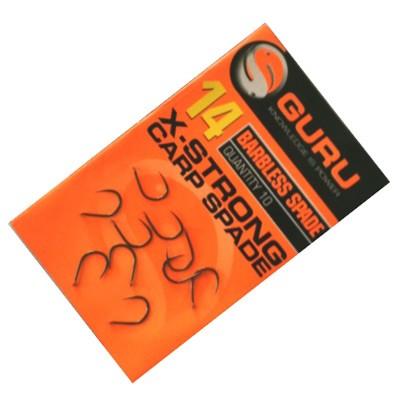 GURU Barbless Spade Hook Size 20 X-Strong