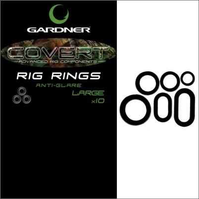 Gardner Covert Rig Rings Extra Small Anti Glare