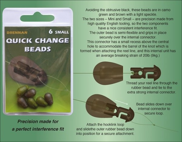 Drennan Quick Change Beads - Small