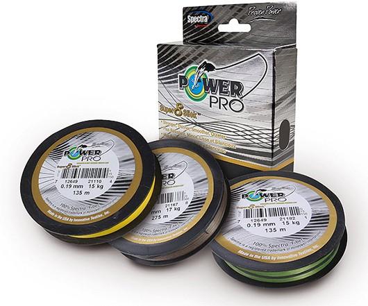 PowerPro Super 8 Slick 100m 0,19mm 15kg Aqua Green