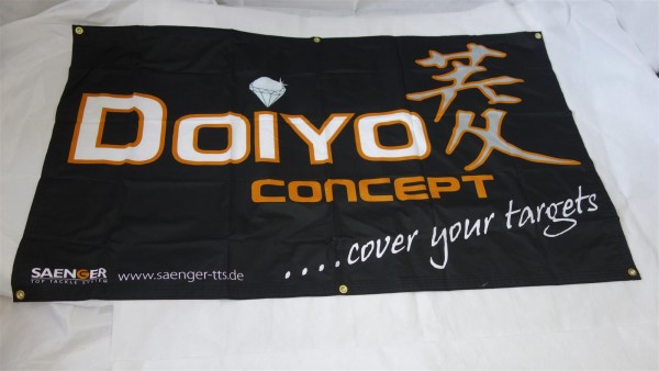 B-Ware IC Doiyo Fahne 90x150 cm