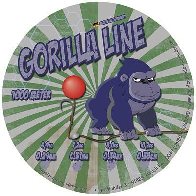 Gorilla Line Invisible Soft 0,38 mm 1000m