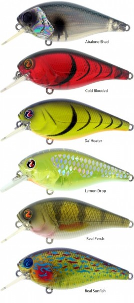 Ish Monroe´s Biggie Small 57 Rattle Fast Floater - Real Perch