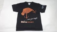 B-Ware IC Doiyo T-Shirt schwarz/orange Gr. L