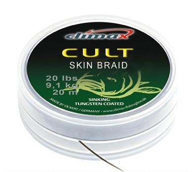 Climax Cult Skin Braid Camou Brown 30lb 15m