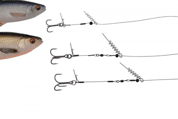 Savage Gear The Corkscrew Release Rig Size S #2 15kg 30cm