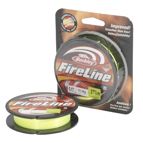 Berkley Fireline Flame Green 0,10/270m