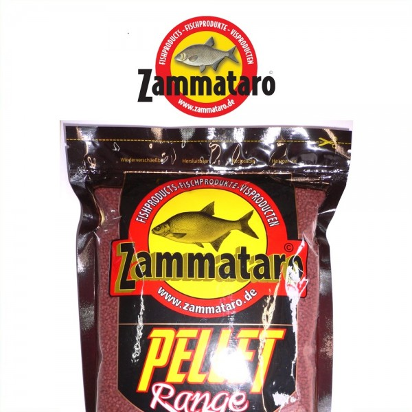 Zammataro Halibut Pellets Premium Red 2mm 0,8kg