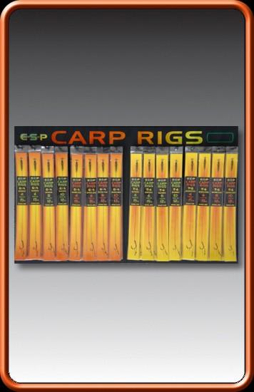 E-S-P Carp Rig T6 Hook Size 8 12lb Barbless