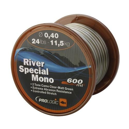 ProLogic River Special Mono 600m 20lbs 9.6kg 0.35mm Camo