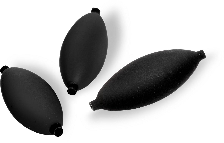 50stk. Black Cat Hard Bead 8 mm schwarz