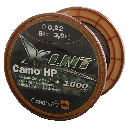 ProLogic XLNT HP 1000m 20lbs 9.8kg 0.38mm Camo