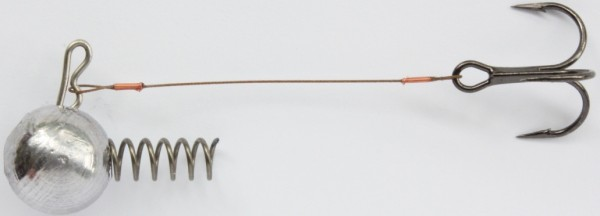 A.H.F. Leitner Korkenziehersystem 10g, 6,0cm, 1xDrill. Gr.6