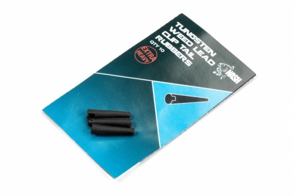 Nash Tackle Tungsten Weed Lead Clip Tail Rubber
