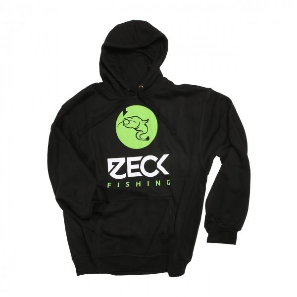 Zeck Catfish Black Hoodie