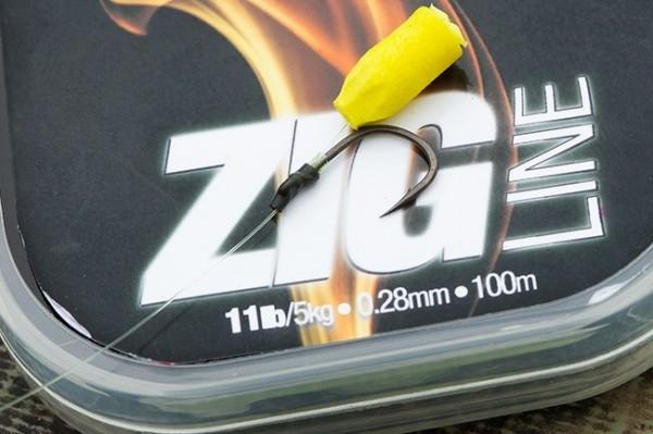Korda Zig Line 7lb 0,22mm 100m