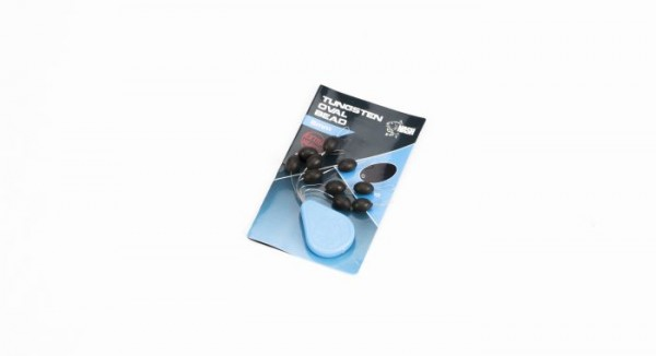 Nash Tackle Tungsten Oval Bead 6mm