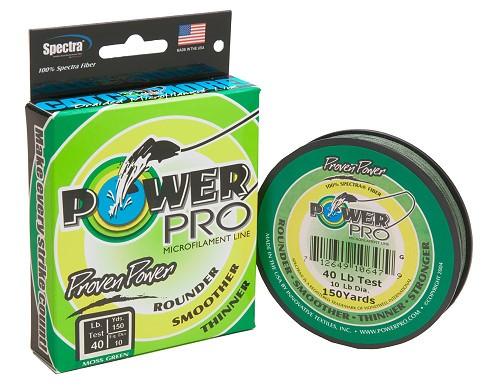 PowerPro 275m 0,10mm 5kg Moos Green