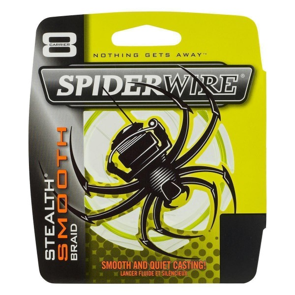 SpiderWire Stealth Smooth 8 Yellow 0,30mm 100m