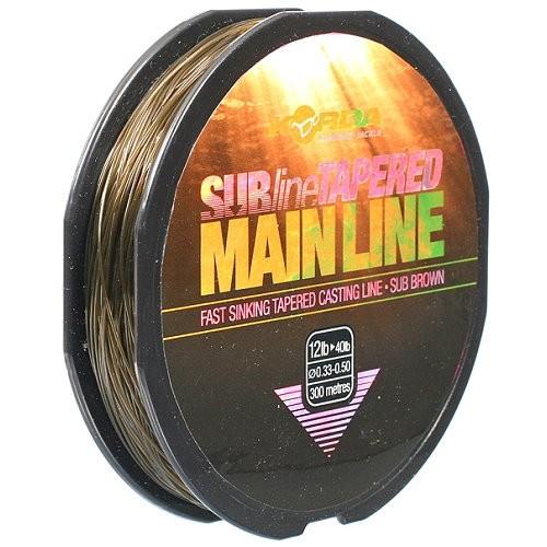 Korda Subline Tapered Mainline 12 lb 300 m