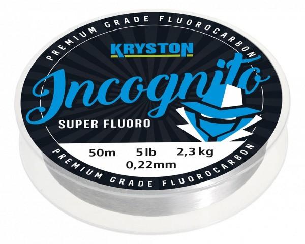 Kryston Incognito Flurocarbon Hooklink Clear 20m 0,45mm 20lb