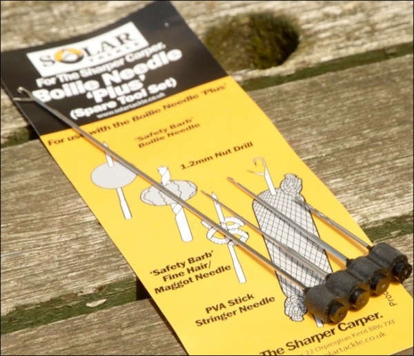 Solar Tackle Boilie Needle Set of 4 Tools
