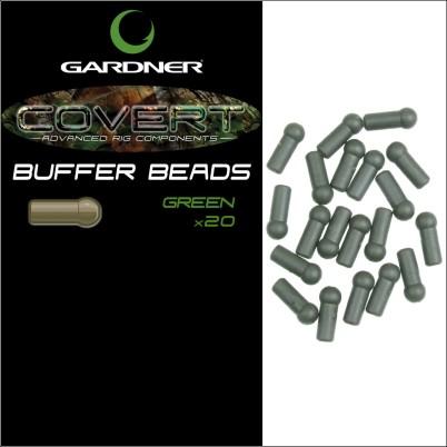 Gardner Covert Buffer Beads C-Thru green